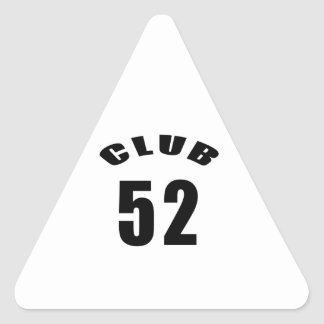 52 Club Birthday Designs Stickers