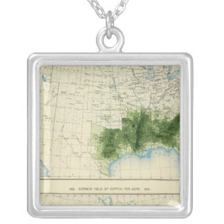 52 Cotton 1890 Silver Plated Necklace