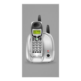 52-Free-3d-Cordless-Phone-Clipart-Illustration Photo Card