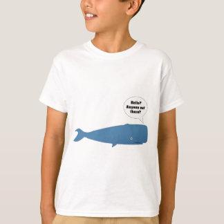 52 Hertz - la ballena más sola del mundo Playera