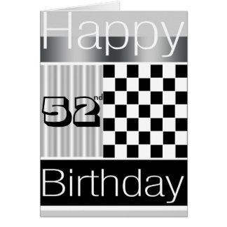 52.o Cumpleaños Tarjeta