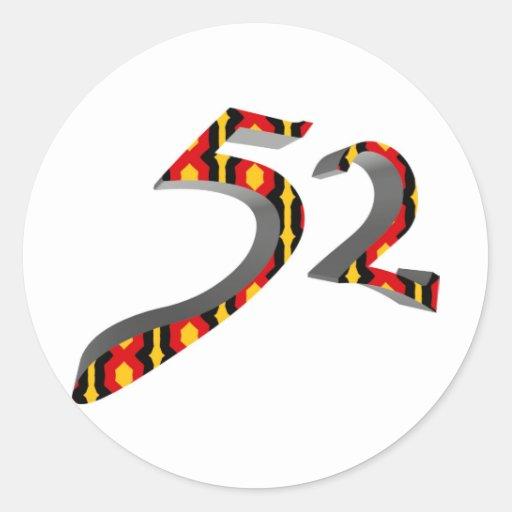 52 PEGATINA REDONDA