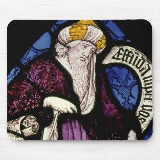 52:Roundel of the prophet Ezekiel, 15th century Mouse Pad