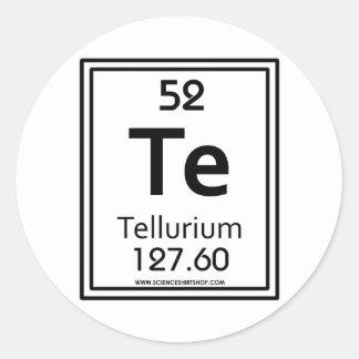 52 Tellurium Classic Round Sticker