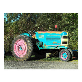 52 tractor postcard