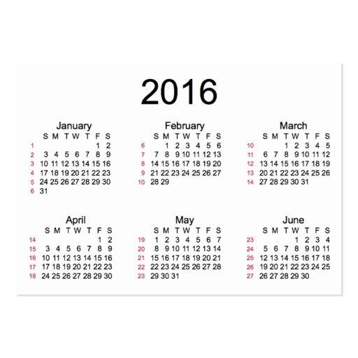 2016 Calendar 52 Weeks | Calendar Template 2016