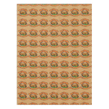 "52""x70"" Tablecloth holiday fabric for Thanksgiving"