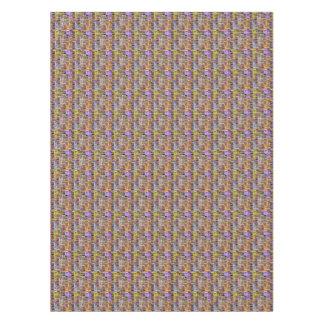 "52""x70"" tablecloth Sparkle graphic weave print"