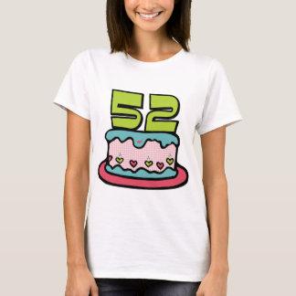 52 Year Old Birthday Cake T-Shirt