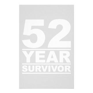 52 year survivor stationery