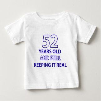 52 years old birthday design baby T-Shirt