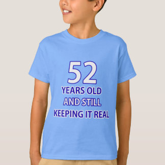 52 years old birthday design T-Shirt