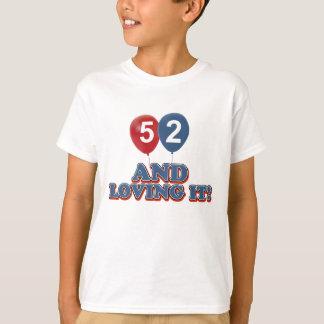 52 years Old birthday designs T-Shirt