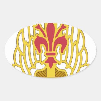 52nd Avn Rgt DUI Oval Sticker