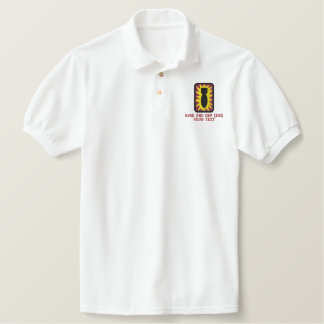 52nd EOD Embroidered Polo Shirt