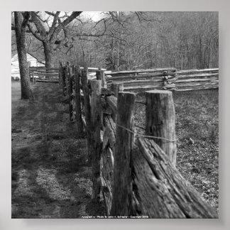 52x52 Appalachia - Photo By John A. Sylvest... Print