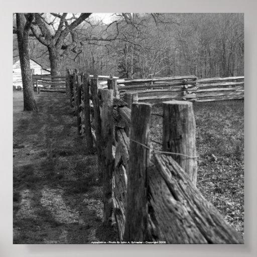52x52 Appalachia - Photo By John A. Sylvest... Poster