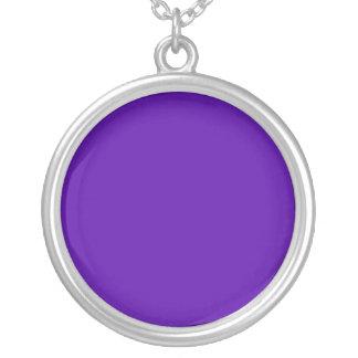 5300A6 púrpura Colgante Redondo