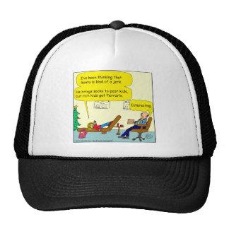 530 santa es un dibujo animado del tirón gorras de camionero