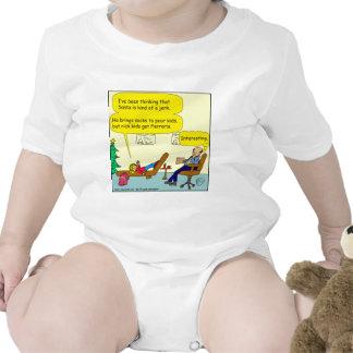 530 santa es un dibujo animado del tirón traje de bebé