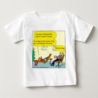 530 santa is a jerk cartoon baby T-Shirt
