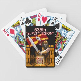 535o Legión de salida 1ra Plt Baraja Cartas De Poker