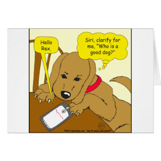 537 whos a good boy cartoon card
