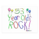 ¡53 años de la roca! postales