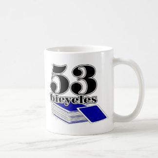 53-bicycles-Blue Mug