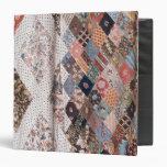 """53: Detalle de un edredón de remiendo hecho por la Carpeta 1 1/2"""""""