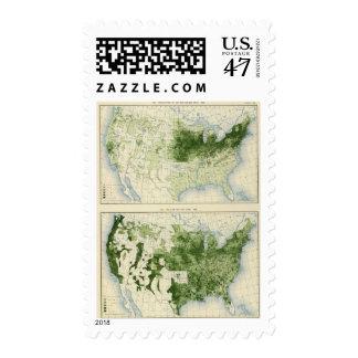 53 heno 1890 timbre postal