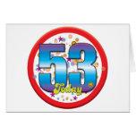 53.o Cumpleaños hoy v2 Tarjeta