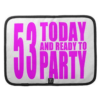 53.os cumpleaños de los chicas: 53 hoy y aliste organizadores