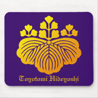 53 paulownia crest mouse pad