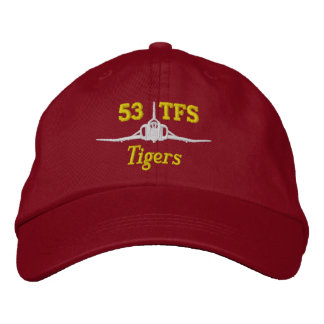 53 TFS F-4 Golf Hat Embroidered Baseball Cap