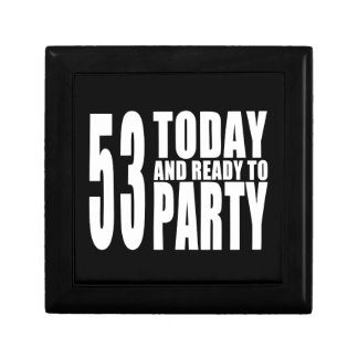 53rd Birthdays Parties : 53 Today & Ready to Party Jewelry Box