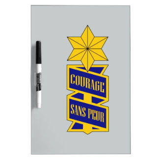53rd Infantry Regiment Dry-Erase Board