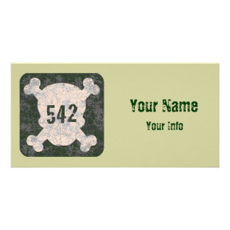 542 & Crossbones Card