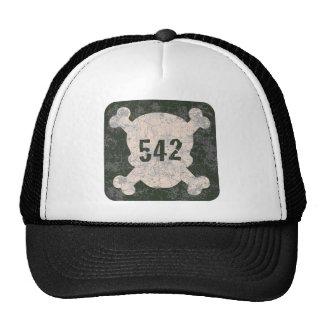 542 & Crossbones Mesh Hat