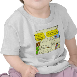542 turtle in silverware drawer cartoon t-shirts