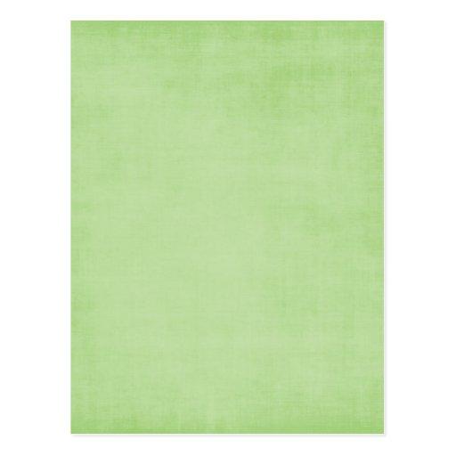 543_green LIGHT GREEN TEXTURES SOLID TEMPLATE DIGI Postcard