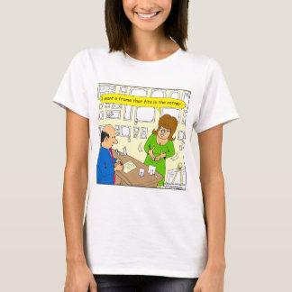 544 corner picture frame cartoon T-Shirt