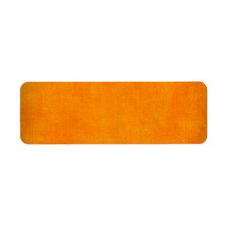 5451_sports ORANGE POPSICLE TEXTURE BACKGROUND TEM Return Address Label