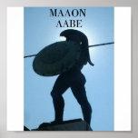 545_King_Leonidas_statue, MALON LABE Impresiones