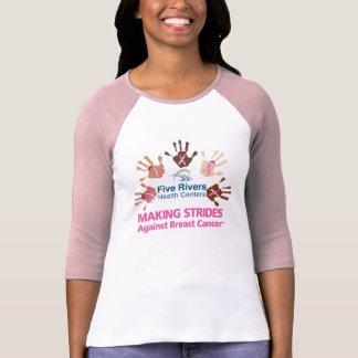 545Rivers - Camiseta del raglán de las mujeres Playeras