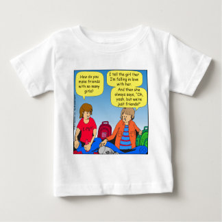 546 girl friends cartoon baby T-Shirt