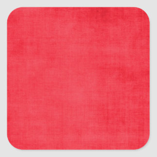 547 SOLID COZY WINTER RED TEXTURED TEMPLATES DIGIT SQUARE STICKER