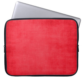 547_solid-red-paper SOLID RED BACKGROUND TEXTURE D Laptop Computer Sleeves