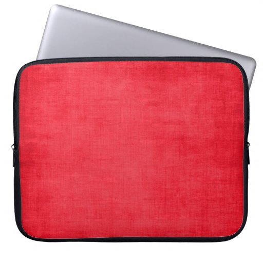 547_solid-red-paper SOLID RED BACKGROUND TEXTURE D Computer Sleeve