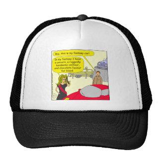 548 fantasy car cartoon trucker hat